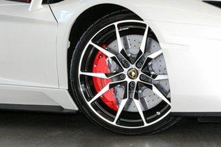 2019 Lamborghini Aventador 834 MY19 S ISR AWD White 7 Speed Sports Automatic Single Clutch Roadster.