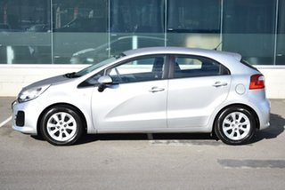 2016 Kia Rio UB MY16 S Silver 4 Speed Sports Automatic Hatchback