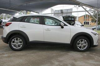 2016 Mazda CX-3 DK2W76 Maxx SKYACTIV-MT Snowflake White 6 Speed Manual Wagon.