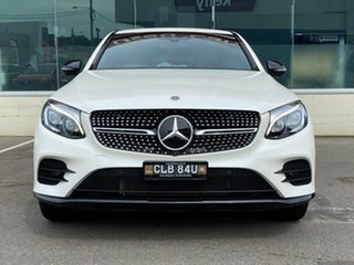 2018 Mercedes-Benz GLC-Class C253 808MY GLC250 Coupe 9G-Tronic 4MATIC White 9 Speed Sports Automatic.
