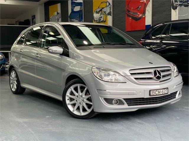 Used Mercedes-Benz B-Class W245 B200, 2007 Mercedes-Benz B-Class W245 B200 Polar Silver Constant Variable Hatchback