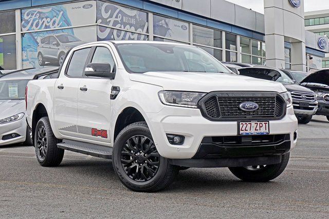Used Ford Ranger PX MkIII 2020.25MY FX4 Pick-up Double Cab, 2020 Ford Ranger PX MkIII 2020.25MY FX4 Pick-up Double Cab White 6 Speed Sports Automatic Utility