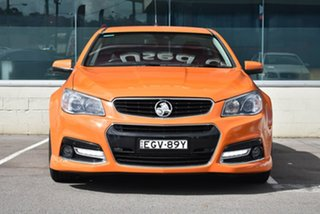 2013 Holden Ute VF MY14 SS V Ute Redline Orange 6 Speed Manual Utility.