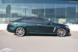 2013 Holden Commodore VF MY14 SV6 Green 6 Speed Sports Automatic Sedan