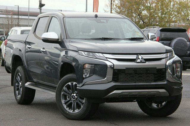 New Mitsubishi Triton MR MY21 GLS Double Cab Toowoomba, 2020 Mitsubishi Triton MR MY21 GLS Double Cab Graphite Grey 6 Speed Sports Automatic Utility