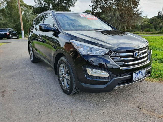 Used Hyundai Santa Fe DM Active, 2013 Hyundai Santa Fe DM Active Black Sports Automatic Wagon