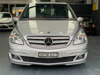 2007 Mercedes-Benz B-Class W245 B200 Polar Silver Constant Variable Hatchback.