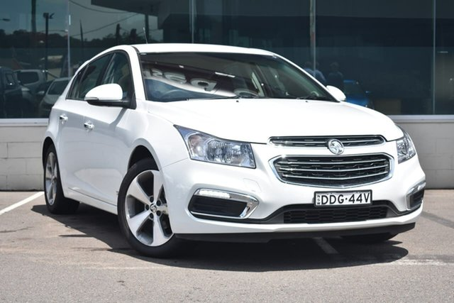 Used Holden Cruze JH Series II MY16 Z-Series, 2016 Holden Cruze JH Series II MY16 Z-Series White 6 Speed Sports Automatic Hatchback