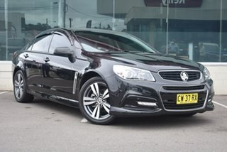 2015 Holden Commodore VF MY15 SV6 Black 6 Speed Sports Automatic Sedan.