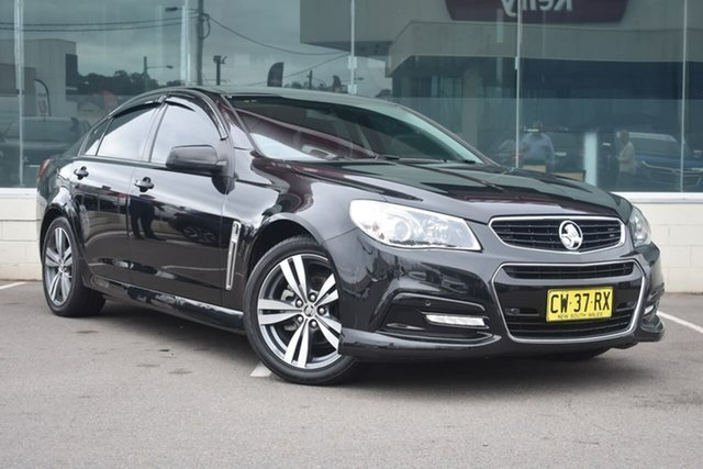 Used Holden Commodore VF MY15 SV6, 2015 Holden Commodore VF MY15 SV6 Black 6 Speed Sports Automatic Sedan