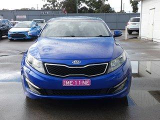 2011 Kia Optima TF MY11 Platinum Blue 6 Speed Sports Automatic Sedan.