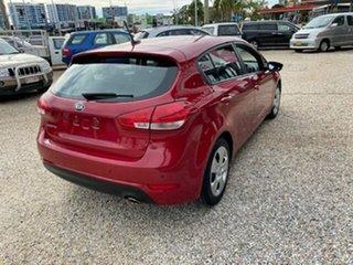 2016 Kia Cerato YD MY17 S Red 6 Speed Auto Seq Sportshift Hatchback