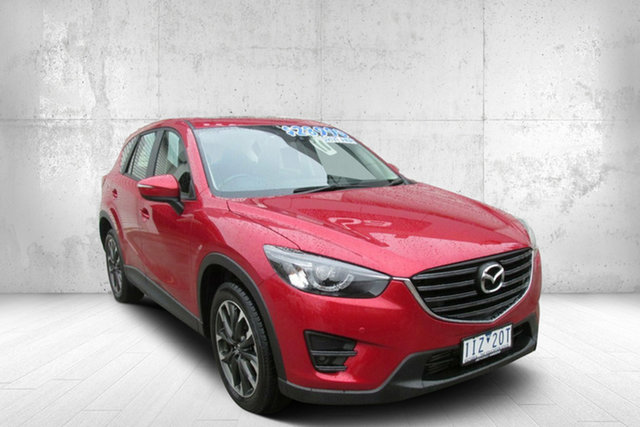 Used Mazda CX-5 KE1022 Grand Touring SKYACTIV-Drive i-ACTIV AWD, 2016 Mazda CX-5 KE1022 Grand Touring SKYACTIV-Drive i-ACTIV AWD Red 6 Speed Sports Automatic Wagon
