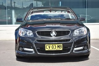 2014 Holden Ute VF MY14 SV6 Ute Storm Black 6 Speed Manual Utility.