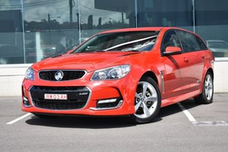 2015 Holden Commodore VF MY15 SS Sportwagon Red 6 Speed Sports Automatic Wagon.