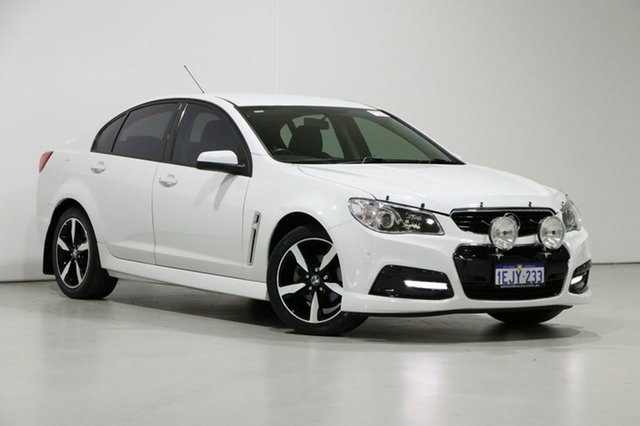 Used Holden Commodore VF SV6, 2013 Holden Commodore VF SV6 White 6 Speed Automatic Sedan