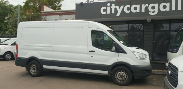 Used Ford Transit VO MY14.5 350L LWB Mid Roof, 2015 Ford Transit VO MY14.5 350L LWB Mid Roof White 6 Speed Manual Van