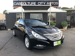 2011 Hyundai i45 YF MY11 Active Black 6 Speed Automatic Sedan.