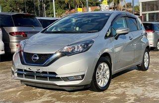 2017 Nissan Note Silver Hatchback.