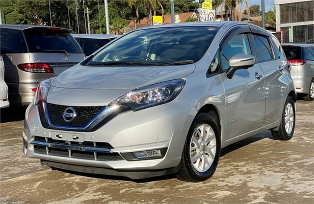 Used Nissan Note Silverwater, 2017 Nissan Note Silver Hatchback