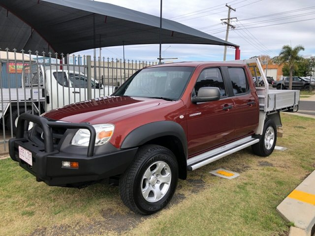 Used Mazda BT-50 08 Upgrade B3000 DX (4x4), 2009 Mazda BT-50 08 Upgrade B3000 DX (4x4) Red 5 Speed Manual Dual Cab Chassis