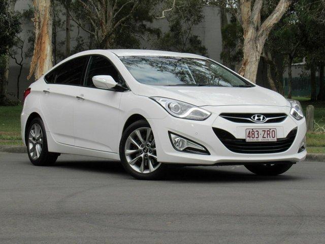 Used Hyundai i40 VF2 Elite, 2014 Hyundai i40 VF2 Elite White 6 Speed Sports Automatic Sedan