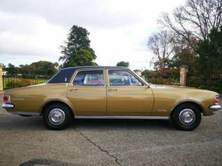 1971 Holden Premier HG Gold 3 Speed Auto Active Select Sedan.