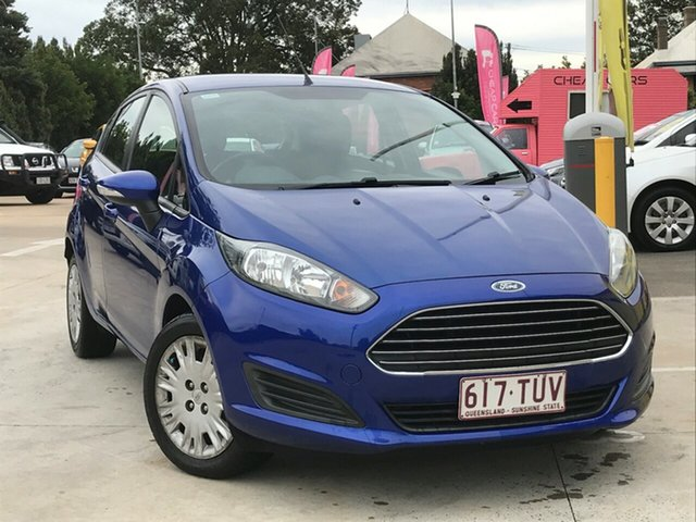 Used Ford Fiesta WZ Ambiente, 2014 Ford Fiesta WZ Ambiente Blue 5 Speed Manual Hatchback
