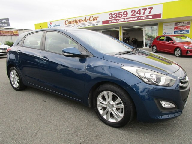 Used Hyundai i30 GD2 MY14 Trophy, 2014 Hyundai i30 GD2 MY14 Trophy Blue 6 Speed Sports Automatic Hatchback