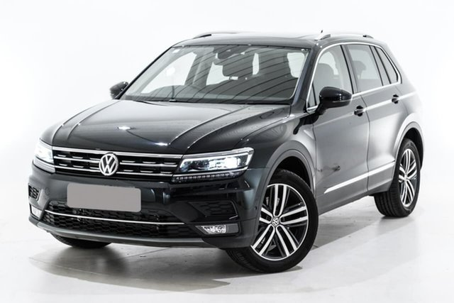 Used Volkswagen Tiguan 5N MY19.5 162TSI DSG 4MOTION Highline, 2019 Volkswagen Tiguan 5N MY19.5 162TSI DSG 4MOTION Highline Black 7 Speed