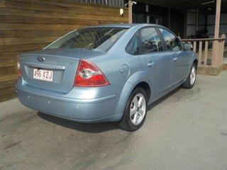 2008 Ford Focus LT LX Blue 4 Speed Sports Automatic Sedan.