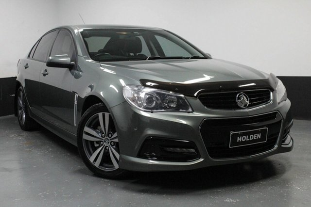Used Holden Commodore VF MY15 SV6, 2014 Holden Commodore VF MY15 SV6 Grey 6 Speed Sports Automatic Sedan