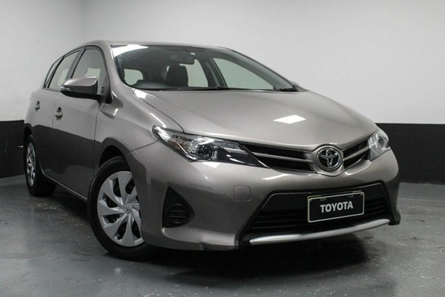 Used Toyota Corolla ZRE182R Ascent S-CVT, 2014 Toyota Corolla ZRE182R Ascent S-CVT Bronze 7 Speed Constant Variable Hatchback