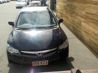 2008 Honda Civic 8th Gen MY08 VTi-L Black 5 Speed Automatic Sedan