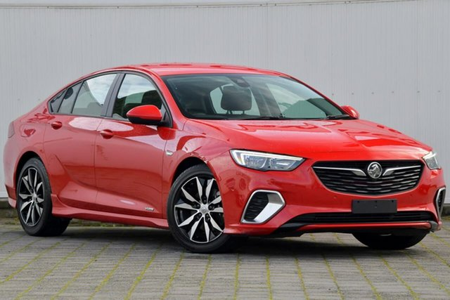 Used Holden Commodore ZB MY18 RS Liftback AWD, 2018 Holden Commodore ZB MY18 RS Liftback AWD Red 9 Speed Sports Automatic Liftback