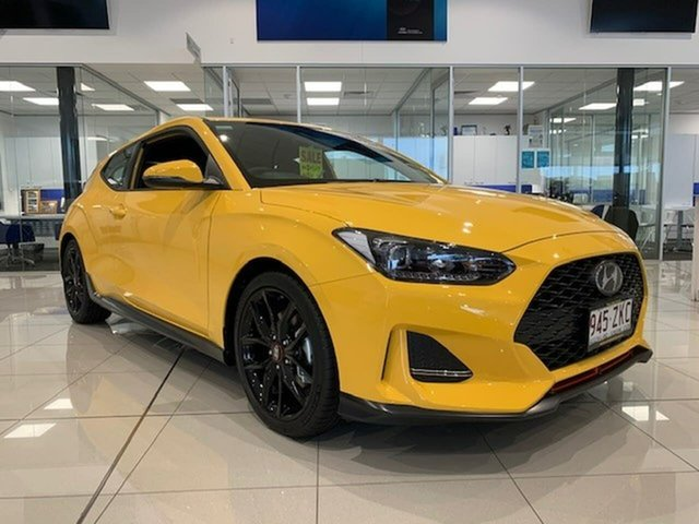 Demo Hyundai Veloster JS MY20 Turbo Coupe D-CT, 2019 Hyundai Veloster JS MY20 Turbo Coupe D-CT Tuy 7 Speed Sports Automatic Dual Clutch Hatchback