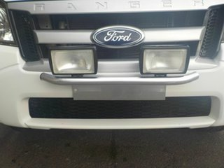 2010 Ford Ranger PK XL 4x2 Hi-Rider White 5 Speed Manual Cab Chassis