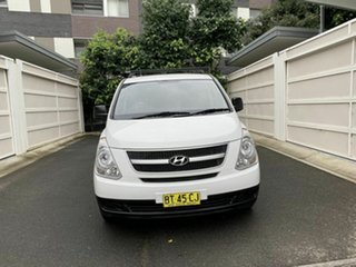 2012 Hyundai iLOAD TQ2-V MY13 White 5 Speed Automatic Van.