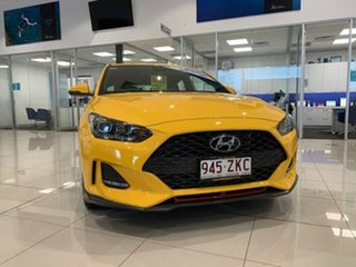 2019 Hyundai Veloster JS MY20 Turbo Coupe D-CT Tuy 7 Speed Sports Automatic Dual Clutch Hatchback.