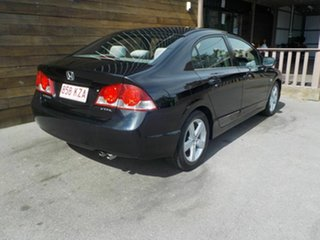 2008 Honda Civic 8th Gen MY08 VTi-L Black 5 Speed Automatic Sedan.