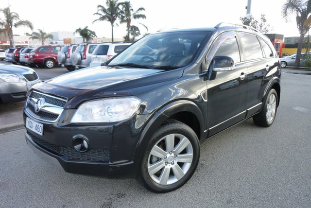 Used Holden Captiva CG MY10 LX AWD, 2009 Holden Captiva CG MY10 LX AWD Black 5 Speed Sports Automatic Wagon