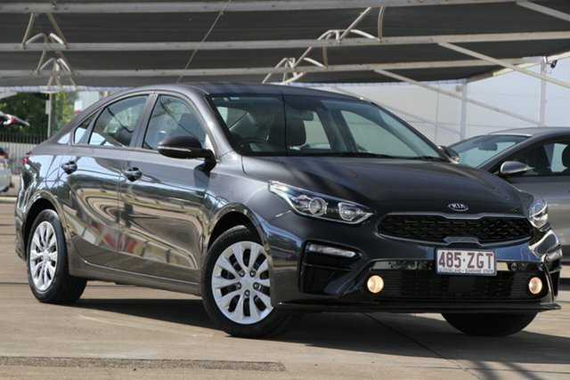 Used Kia Cerato BD MY19 S, 2019 Kia Cerato BD MY19 S Platinum Graphite 6 Speed Sports Automatic Sedan