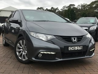 2012 Honda Civic 9th Gen VTi-L Grey 5 Speed Sports Automatic Hatchback.