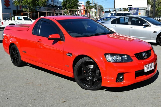 Used Holden Commodore VE II MY12 SS-V, 2011 Holden Commodore VE II MY12 SS-V Red 6 Speed Automatic Utility