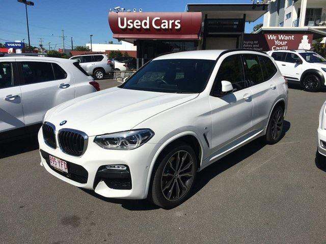 Used BMW X3 G01 xDrive30i Steptronic, 2018 BMW X3 G01 xDrive30i Steptronic White 8 Speed Automatic Wagon