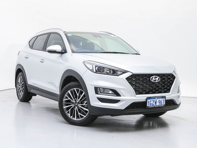 Demo Hyundai Tucson TL4 MY20 Active X (2WD) Black INT, 2020 Hyundai Tucson TL4 MY20 Active X (2WD) Black INT Platinum Silver Metallic 6 Speed Automatic