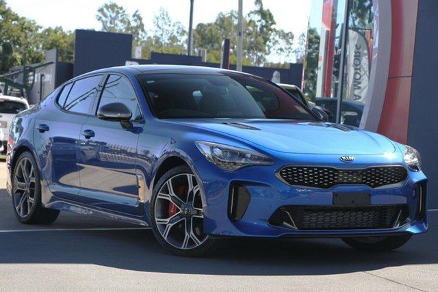 Demo Kia Stinger CK MY20 GT-Line Fastback, 2019 Kia Stinger CK MY20 GT-Line Fastback Micro Blue 8 Speed Sports Automatic Sedan