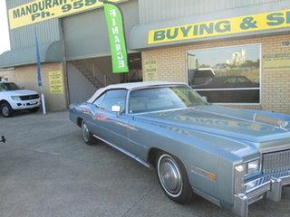 1975 Cadillac Eldorado Blue Automatic Convertible