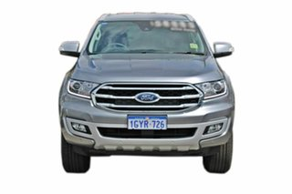 2019 Ford Everest UA II 2019.75MY Trend 4WD Silver 10 Speed Sports Automatic Wagon.