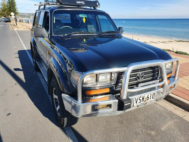 Used Toyota Landcruiser FZJ80R GXL, 1995 Toyota Landcruiser FZJ80R GXL Amazon Green 4 Speed Automatic Wagon